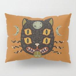 Spooky Cat Pillow Sham