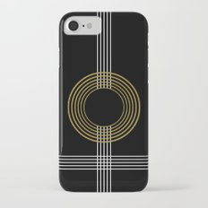 GUITAR IN ABSTRACT (geometric art deco) iPhone 7 Slim Case