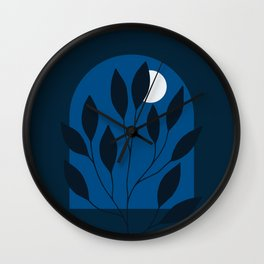 Moon Window Wall Clock