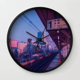 5 AM in Tokyo Wall Clock