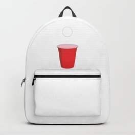 Beer Pong Illustration Backpack