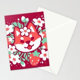 Ichigo Inu Stationery Cards