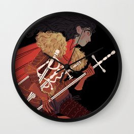 7 of Swords Wall Clock