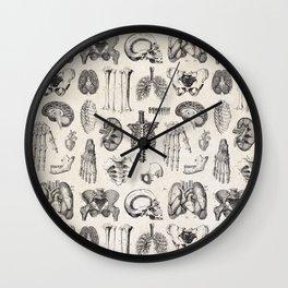 Human Anatomy Wall Clock