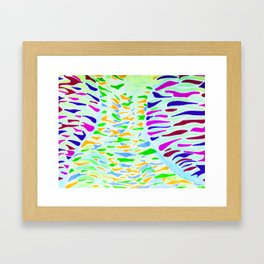 Thailand Flow  Framed Art Print