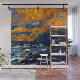 1910 Classical Masterpiece 'The Sea' Herbstmeer by Emil Nolde Wall Mural