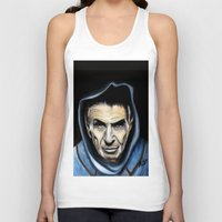 spock Tank Tops featuring Spock by James Kruse