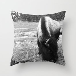 Lost in fur Throw Pillow