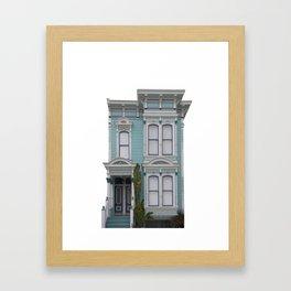 Green House San Francisco Framed Art Print