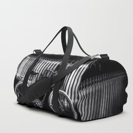 Grandmothers House - Black And White Duffle Bag
