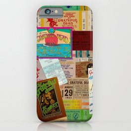 Ticket Stubs Concert Junkie - The Dead iPhone Case