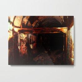 """Die Death Wish"" -  Split Rock Quarry (Rock Crusher Interior) Metal Print"