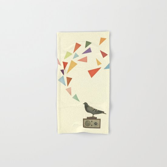 Pigeon Radio Hand & Bath Towel