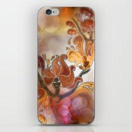 discopattern orange -1a- iPhone Skin