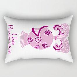 Use Protection Rectangular Pillow