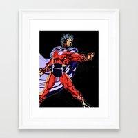magneto Framed Art Prints featuring Magneto by Joynisha Sumpter