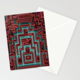 Aztec IV Stationery Cards