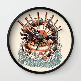 Dragon Sushi Ramen Wall Clock