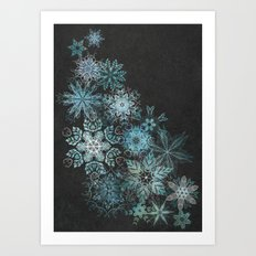 The Mountain Drift Art Print