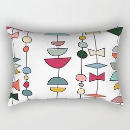 Atomic Beads Rectangular Pillow