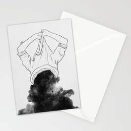 Its better to disappear. Stationery Cards