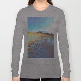 Watery Clouds Long Sleeve T-shirt