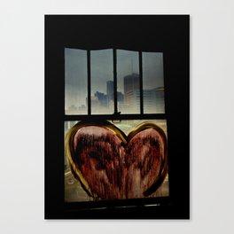 Detroit Love Canvas Print