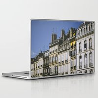 90s Laptop & iPad Skins featuring The 90s in France by MarioGuti