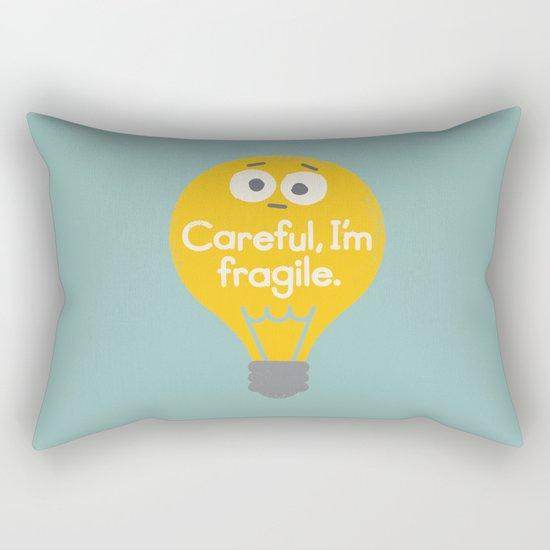 Light Sensitive Rectangular Pillow