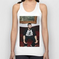 kevin russ Tank Tops featuring Kevin by moriahaslan