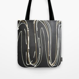 Metallic In Action Tote Bag