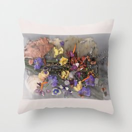 Underwater Garden Throw Pillow