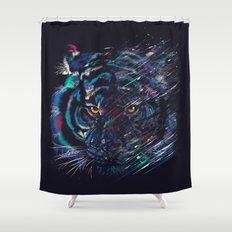 FIERCE Shower Curtain