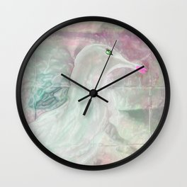 Jonathon Said To His Girlfriend, Love Your Makeup Wall Clock