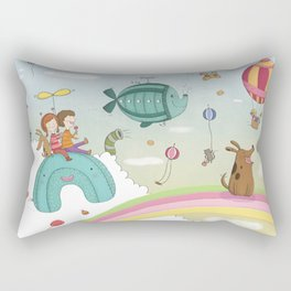 CANDIES WORLD Rectangular Pillow