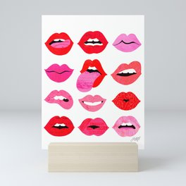 Lips of Love Mini Art Print