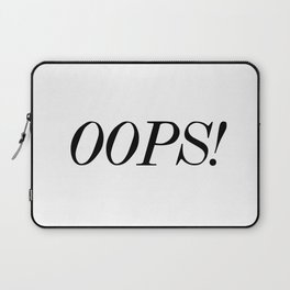 oops! Laptop Sleeve