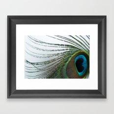 Solid Fluid Framed Art Print