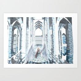 The cage - Original series Art Print