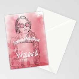 Luna lovegood art Stationery Cards