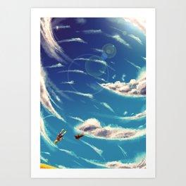 Fall. Art Print