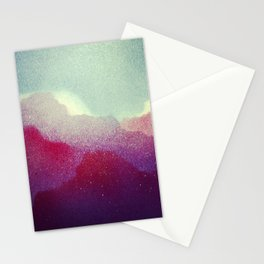 Spray Clouds Stationery Cards