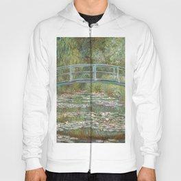 Claude Monet - Bridge Over A Pond Of Water Lilies Hoody