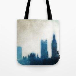 The Many Steepled London Sky Tote Bag