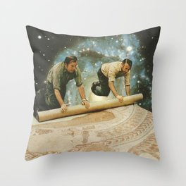 The big reveal Throw Pillow