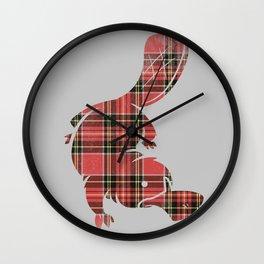Plaidapus delux Wall Clock
