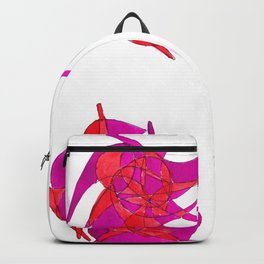Color swirl Backpack