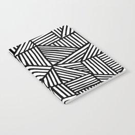 Black Brushstrokes Notebook