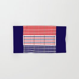 Red White & Blue in lights Hand & Bath Towel