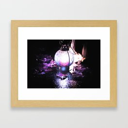 Mystic Lantern Framed Art Print